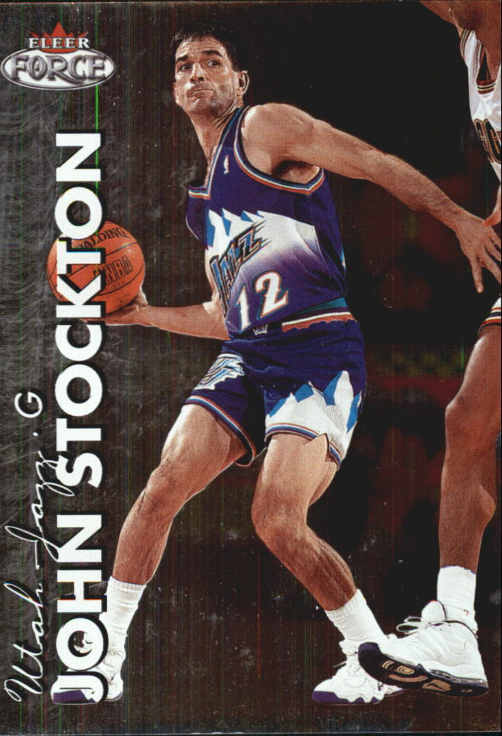 1999-00 Fleer Force #31 John Stockton