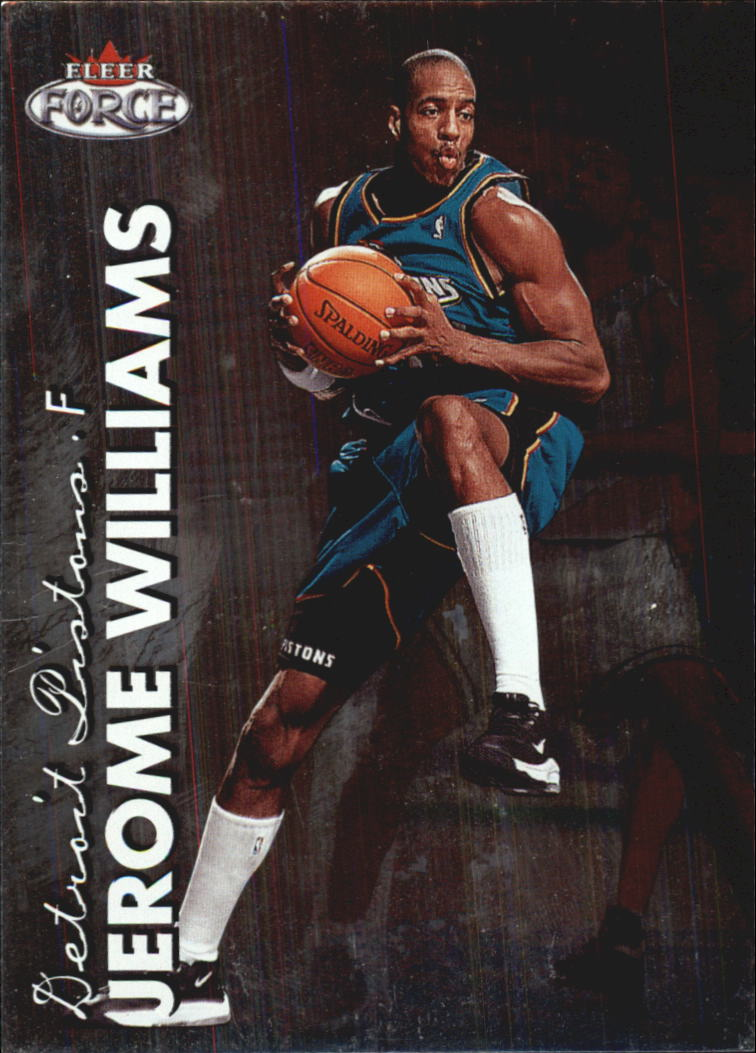 1999-00 Fleer Force #50 Jerome Williams