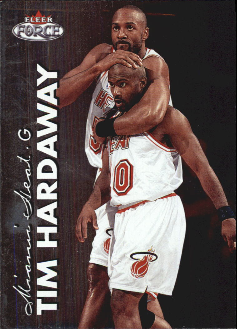 1999-00 Fleer Force #54 Tim Hardaway
