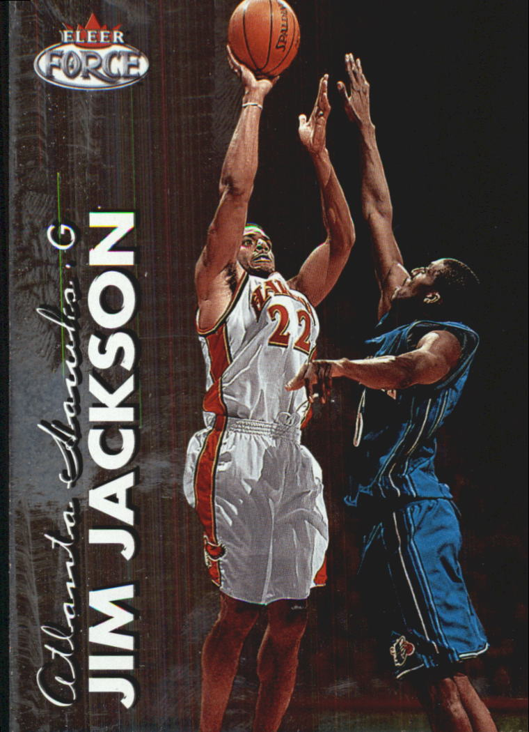 1999-00 Fleer Force #57 Jim Jackson