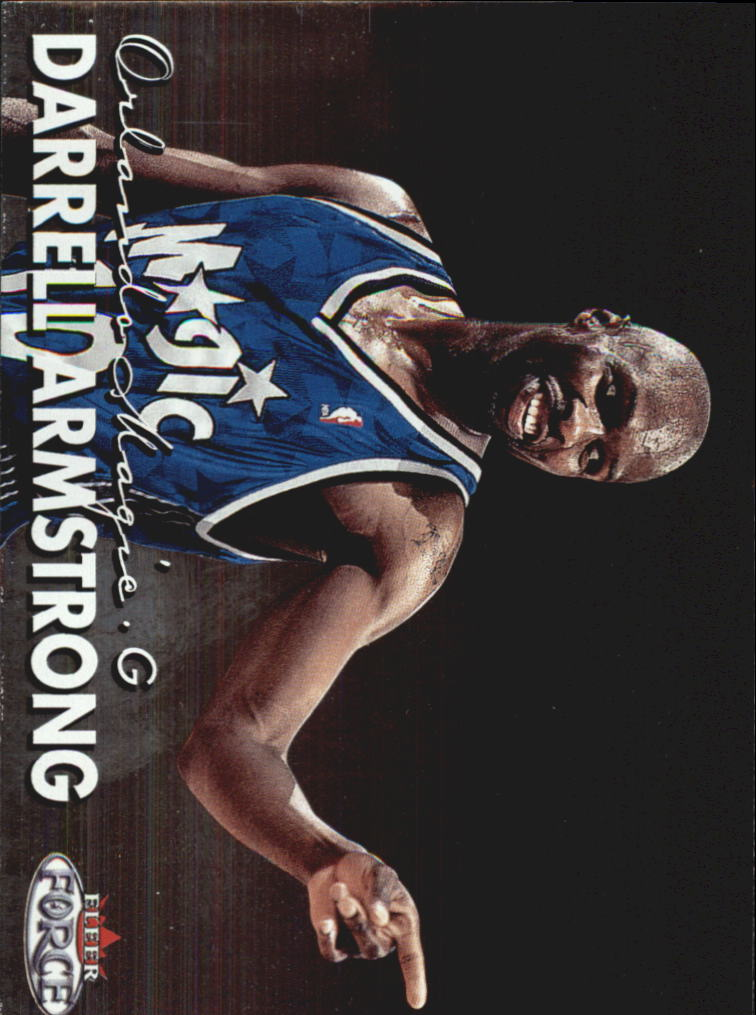 1999-00 Fleer Force #62 Darrell Armstrong