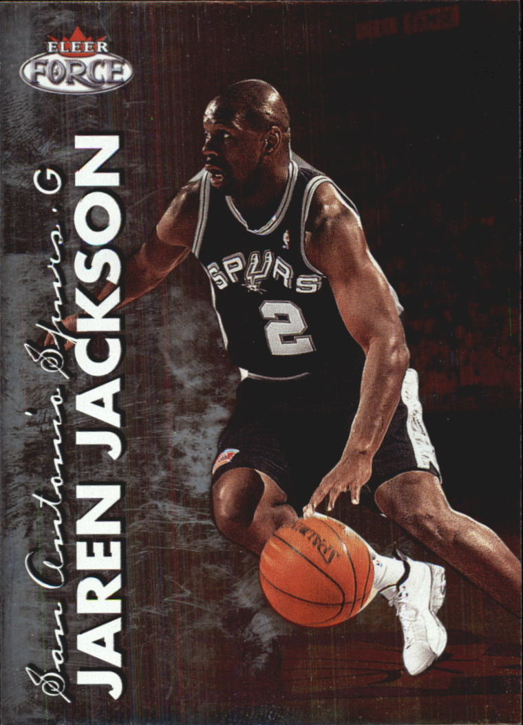 1999-00 Fleer Force #64 Jaren Jackson