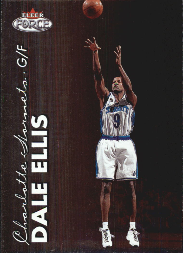 1999-00 Fleer Force #65 Dale Ellis