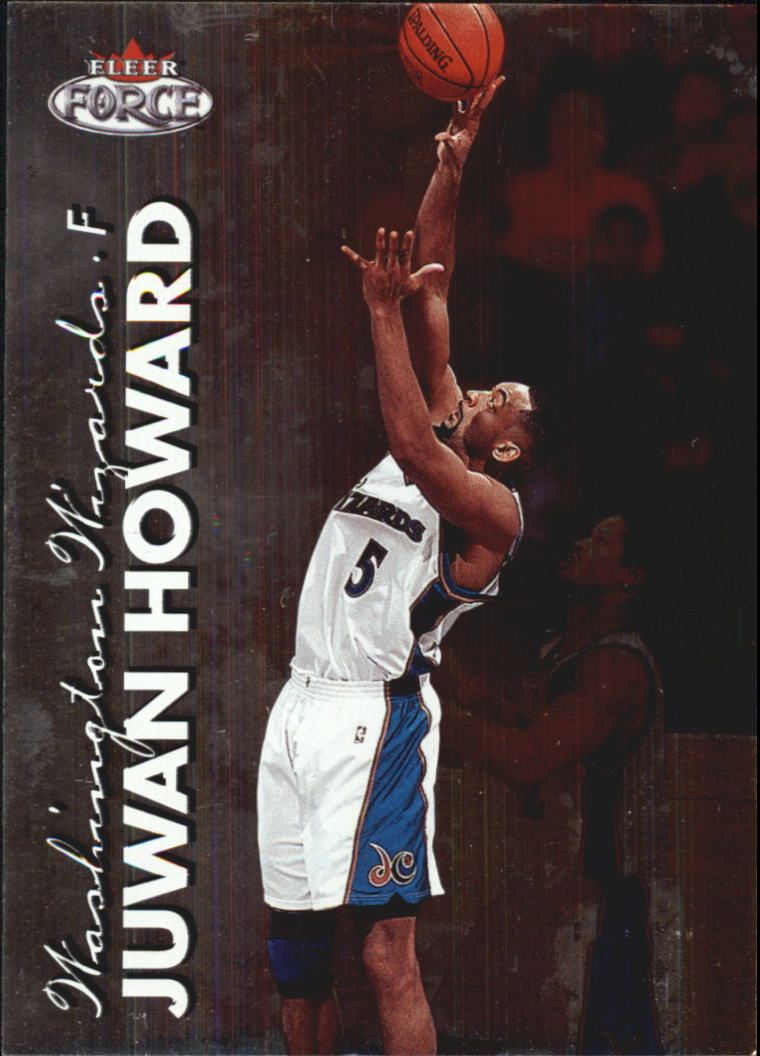 1999-00 Fleer Force #68 Juwan Howard