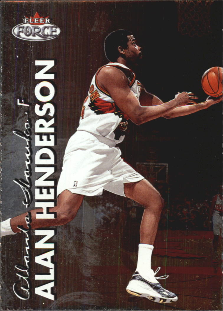 1999-00 Fleer Force #70 Alan Henderson