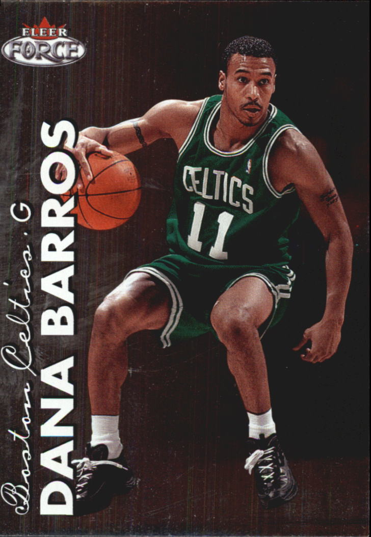 1999-00 Fleer Force #72 Dana Barros