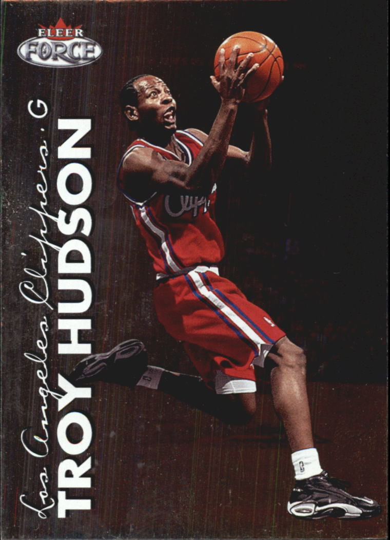 1999-00 Fleer Force #73 Troy Hudson