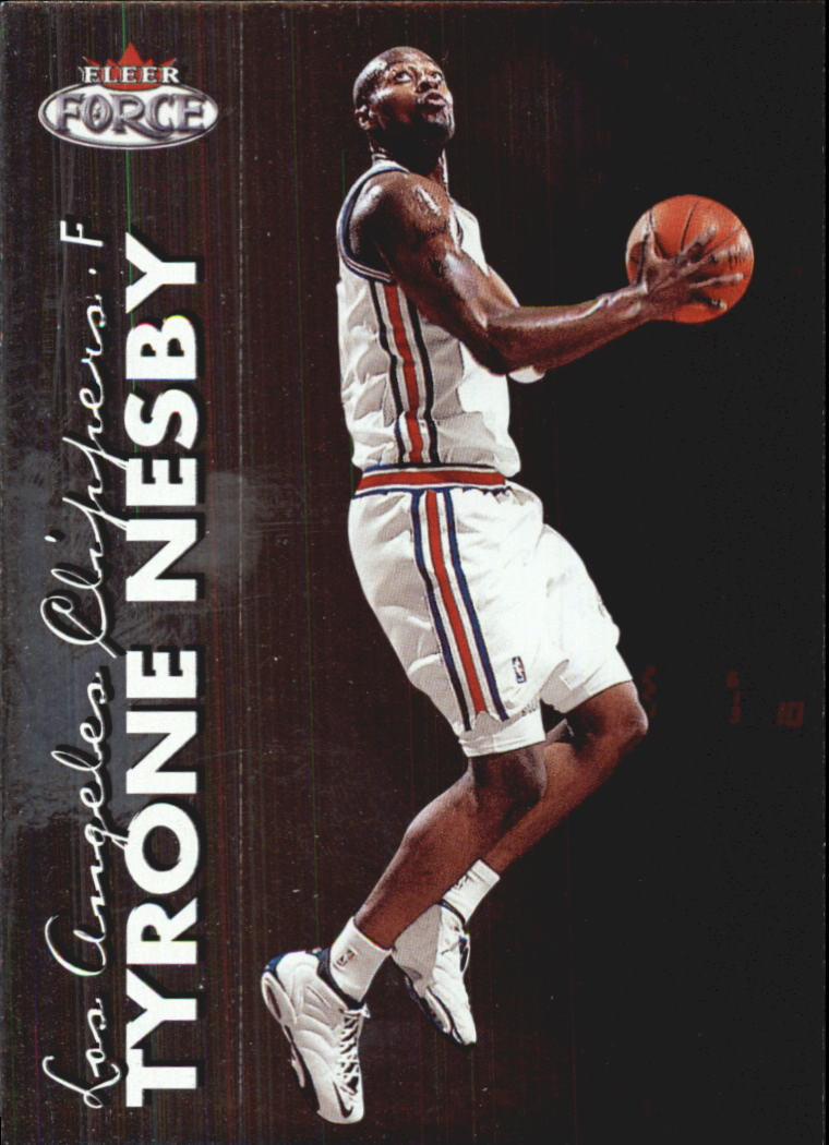 1999-00 Fleer Force #79 Tyrone Nesby RC