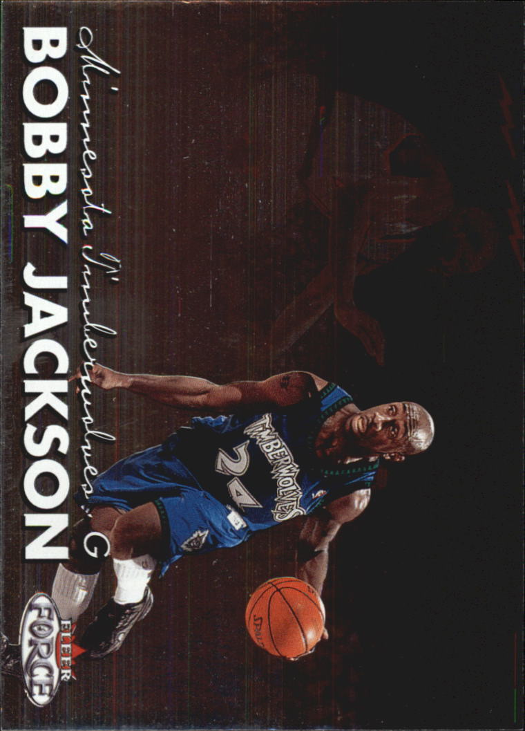 1999-00 Fleer Force #83 Bobby Jackson