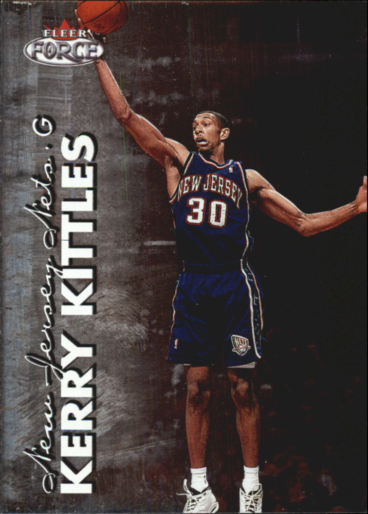 1999-00 Fleer Force #88 Kerry Kittles