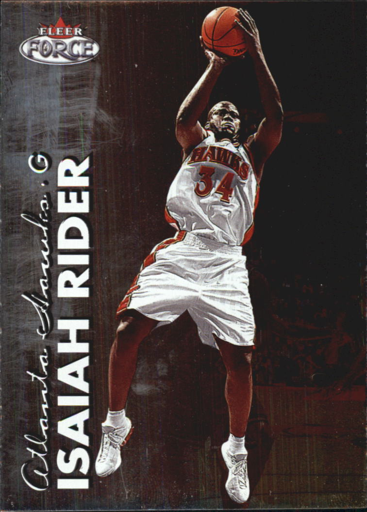 1999-00 Fleer Force #89 Isaiah Rider