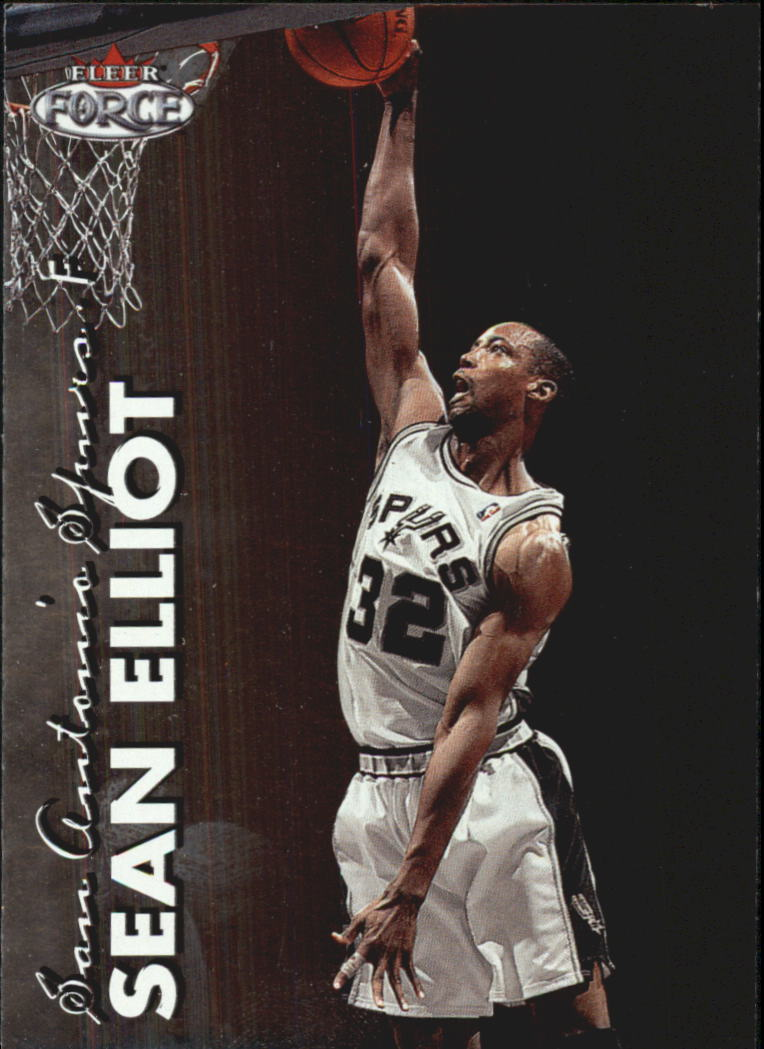 1999-00 Fleer Force #93 Sean Elliott