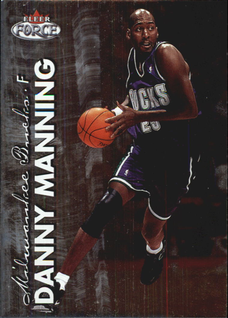 1999-00 Fleer Force #99 Danny Manning