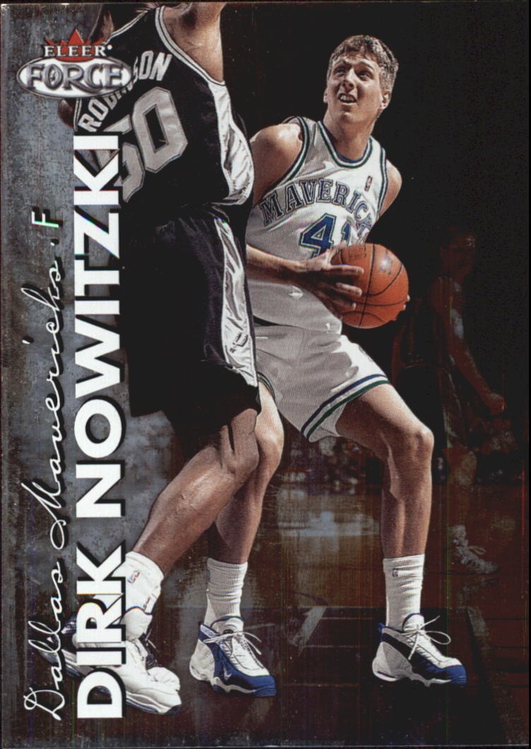1999-00 Fleer Force #130 Dirk Nowitzki