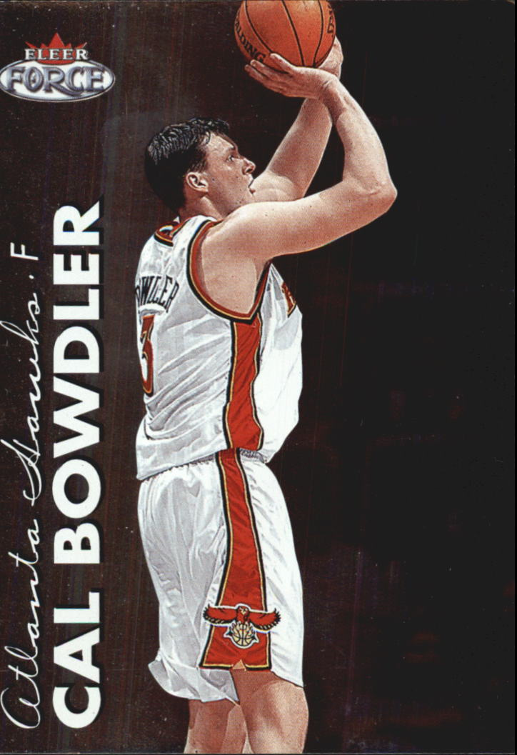 1999-00 Fleer Force #222 Cal Bowdler RC