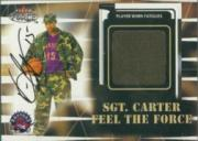 1999-00 Fleer Force #NNO Vince Carter/Sgt.Carter AU/300