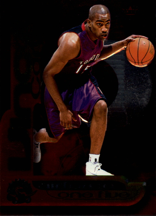 1999-00 Fleer Force Air Force One Five #AF1 Vince Carter