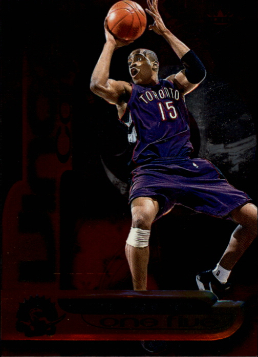 1999-00 Fleer Force Air Force One Five #AF5 Vince Carter