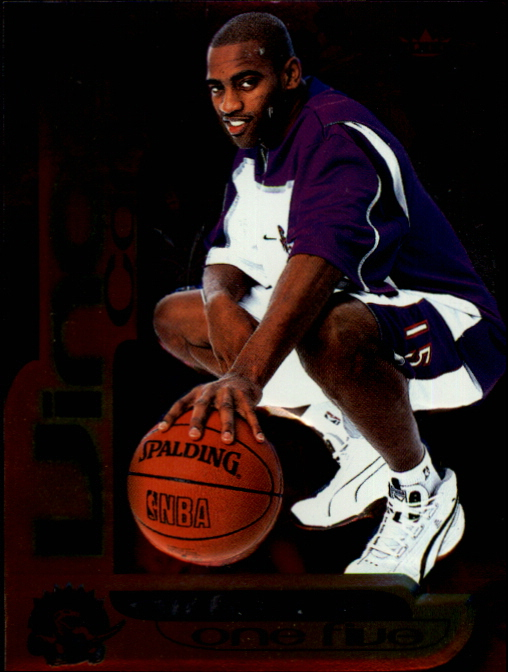 1999-00 Fleer Force Air Force One Five #AF7 Vince Carter