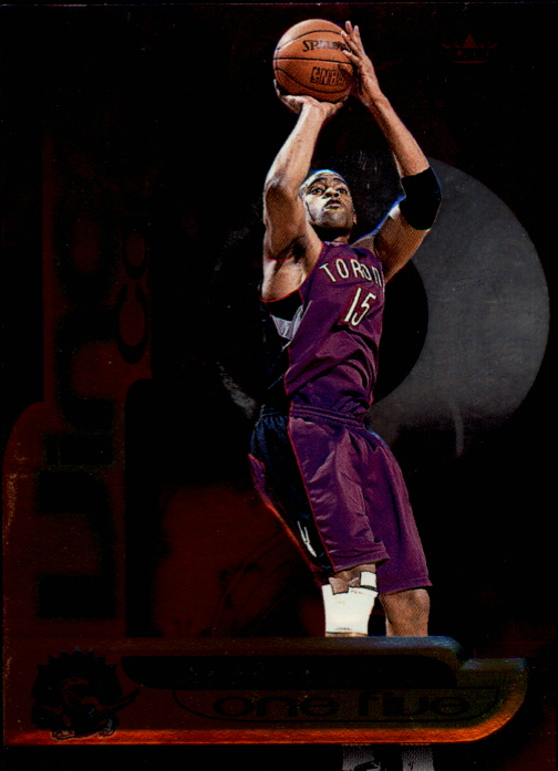 1999-00 Fleer Force Air Force One Five #AF9 Vince Carter