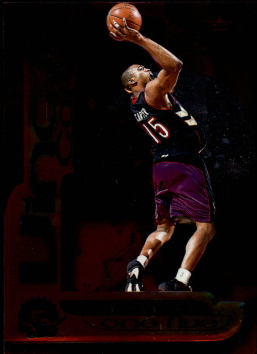 1999-00 Fleer Force Air Force One Five #AF15 Vince Carter