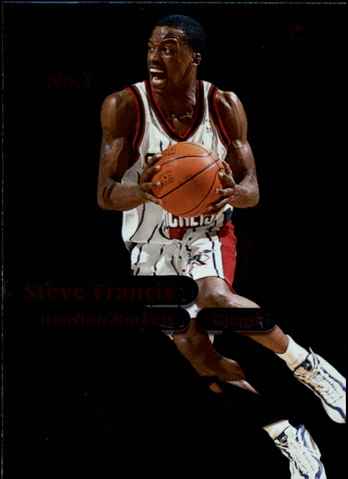 1999-00 Fleer Force Attack Force #A6 Steve Francis