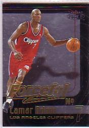 1999-00 Fleer Force Forceful #F2 Lamar Odom
