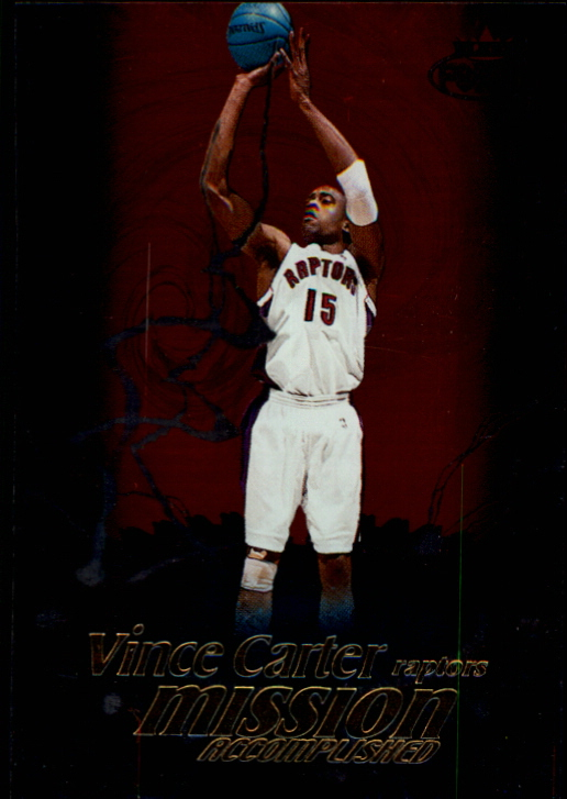 1999-00 Fleer Force Mission Accomplished #MA1 Vince Carter