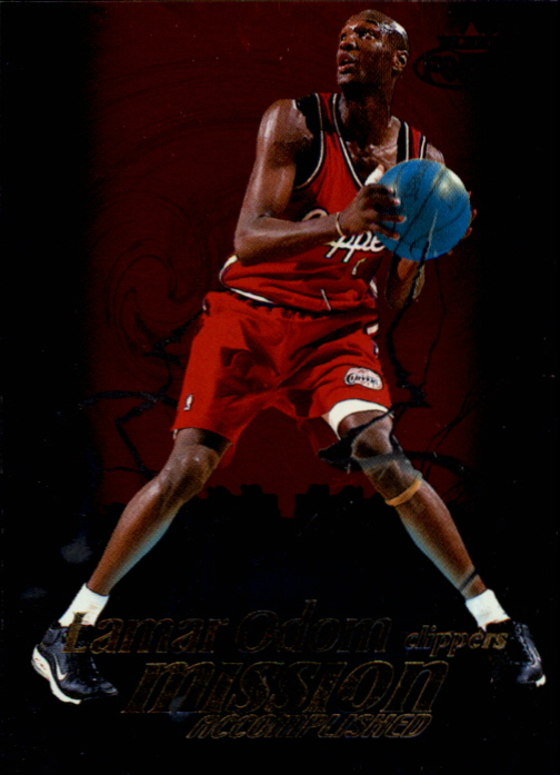 1999-00 Fleer Force Mission Accomplished #MA2 Lamar Odom
