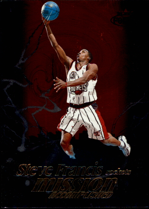 1999-00 Fleer Force Mission Accomplished #MA7 Steve Francis