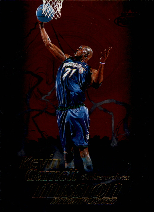 1999-00 Fleer Force Mission Accomplished #MA9 Kevin Garnett
