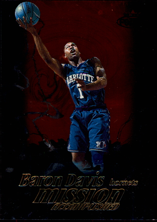 1999-00 Fleer Force Mission Accomplished #MA10 Baron Davis