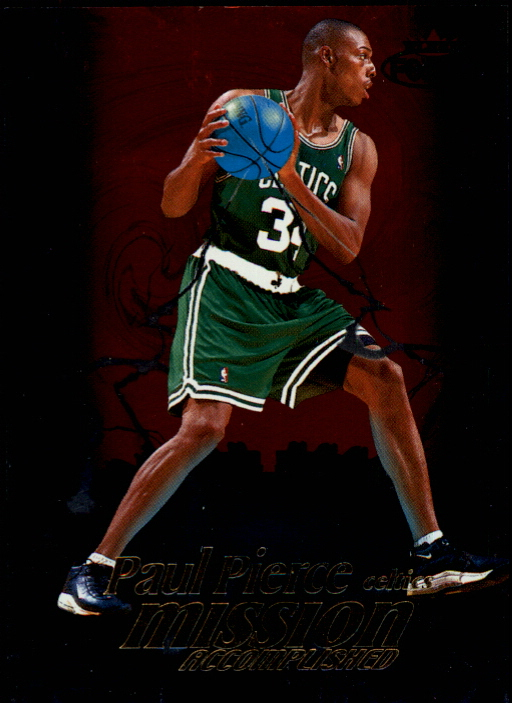 1999-00 Fleer Force Mission Accomplished #MA11 Paul Pierce