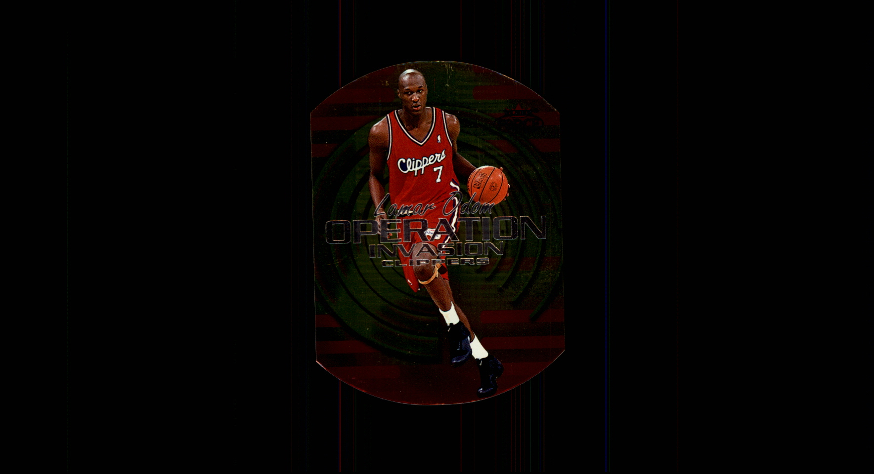 1999-00 Fleer Force Operation Invasion #OI2 Lamar Odom
