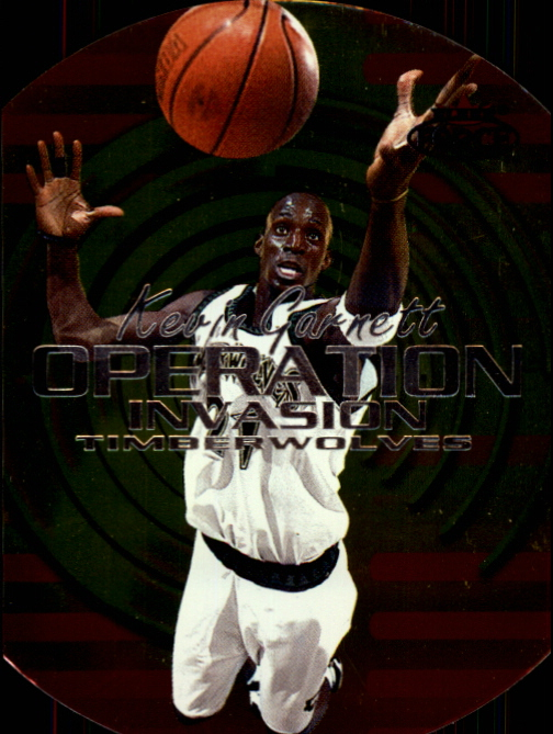 1999-00 Fleer Force Operation Invasion #OI6 Kevin Garnett
