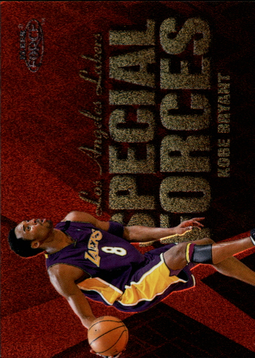 1999-00 Fleer Force Special Forces #SF15 Kobe Bryant