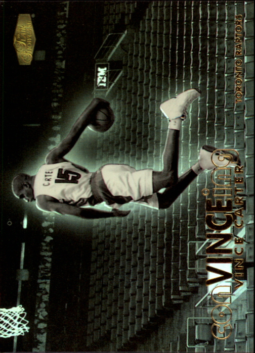 1999-00 Flair Showcase ConVINCEing #C1 Vince Carter