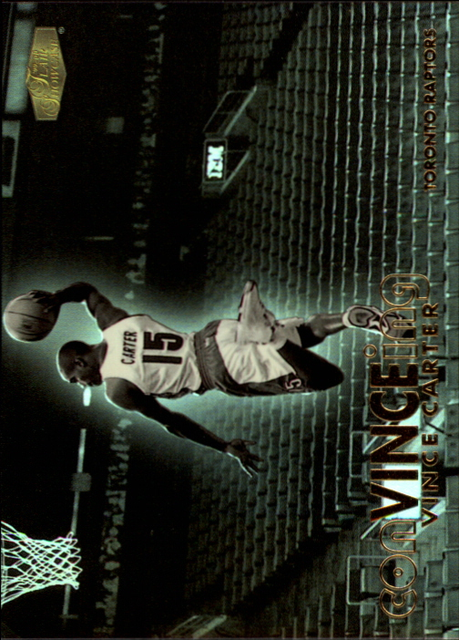 1999-00 Flair Showcase ConVINCEing #C3 Vince Carter