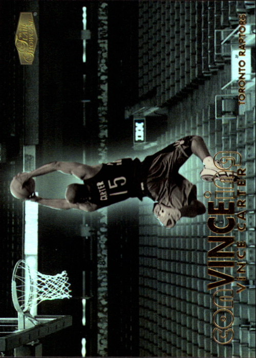 1999-00 Flair Showcase ConVINCEing #C7 Vince Carter