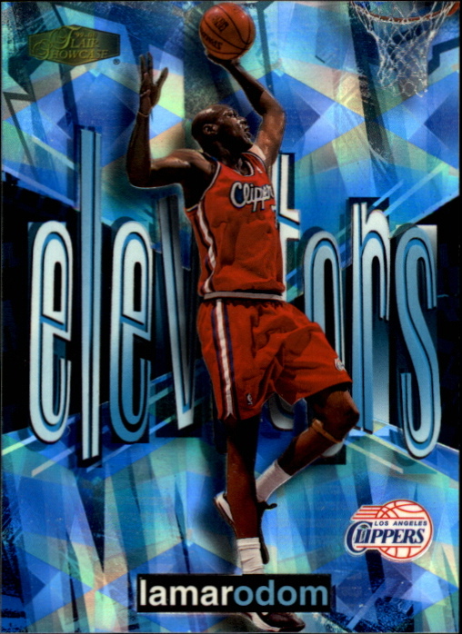 1999-00 Flair Showcase Elevators #E2 Lamar Odom