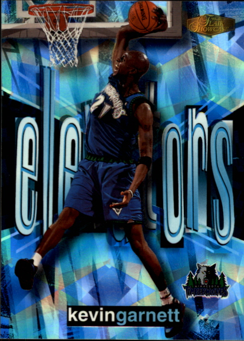 1999-00 Flair Showcase Elevators #E8 Kevin Garnett