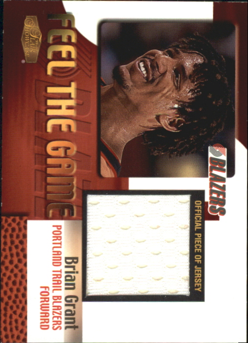 1999-00 Flair Showcase Feel the Game #5 Brian Grant