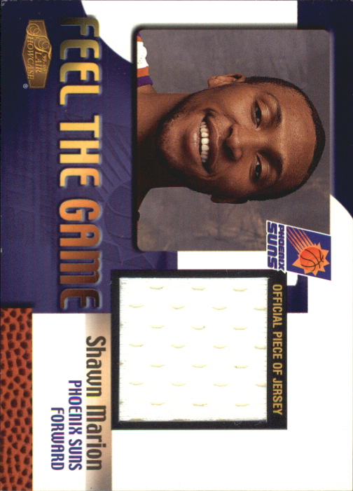 1999-00 Flair Showcase Feel the Game #7 Shawn Marion