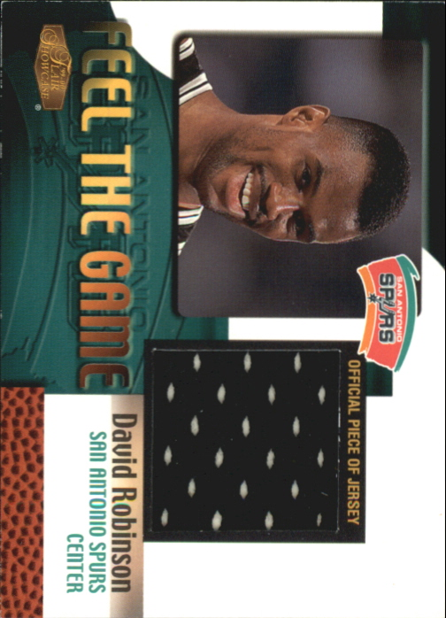 1999-00 Flair Showcase Feel the Game #12 David Robinson