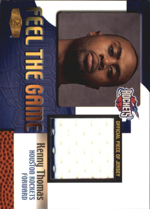 1999-00 Flair Showcase Feel the Game #14 Kenny Thomas