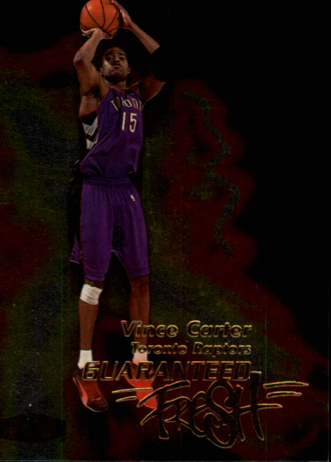 1999-00 Flair Showcase Guaranteed Fresh #GF1 Vince Carter