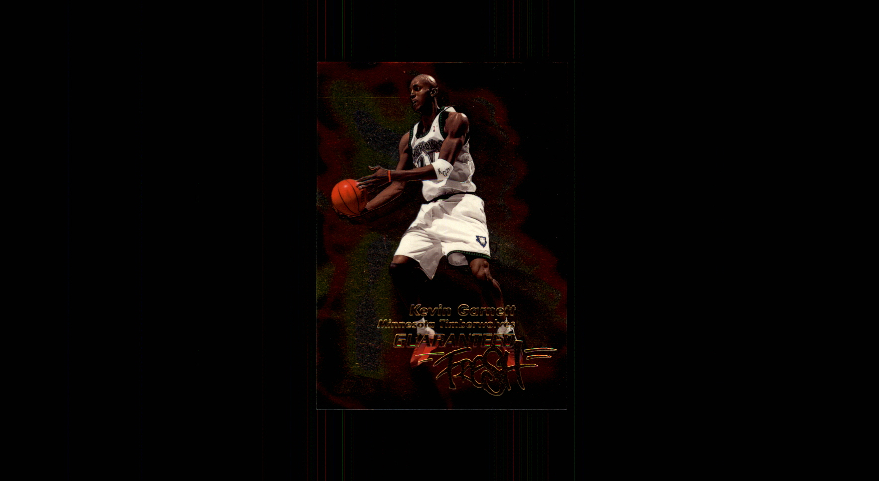 1999-00 Flair Showcase Guaranteed Fresh #GF3 Kevin Garnett