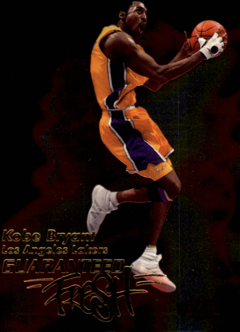 1999-00 Flair Showcase Guaranteed Fresh #GF4 Kobe Bryant