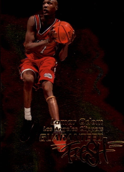 1999-00 Flair Showcase Guaranteed Fresh #GF8 Lamar Odom