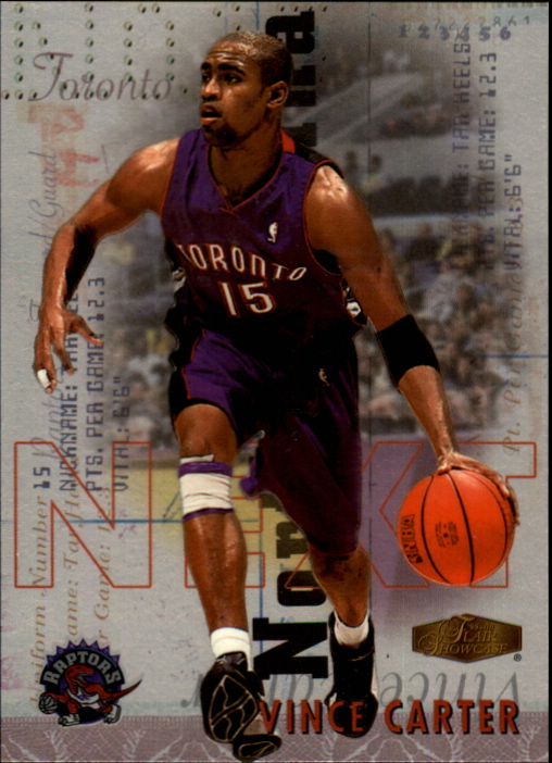 1999-00 Flair Showcase Next #N1 Vince Carter